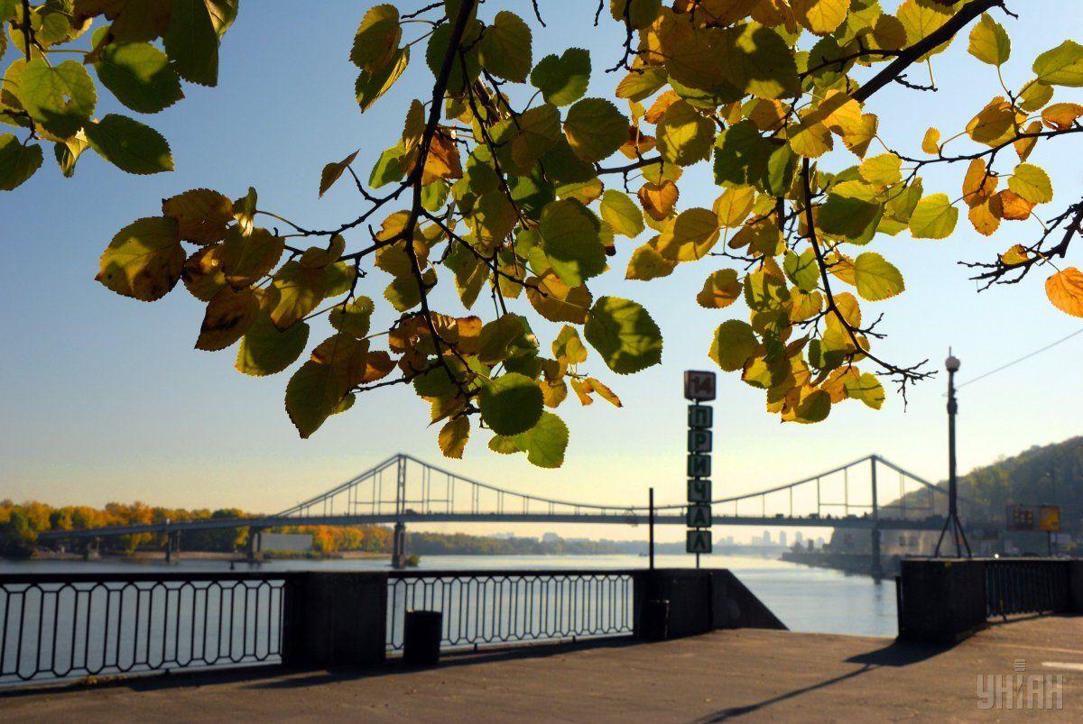 Осень в столице продолжает устанавливать температурные рекорды / фото УНИАН