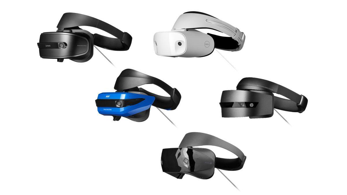Хедсети для змішаної реальності Windows випустять Acer, Dell, HP і Lenovo / фото windows.com
