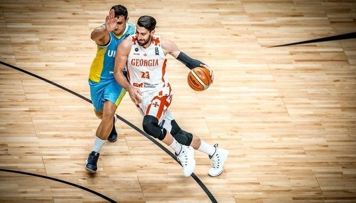 Сборна Украины обыграла команду Грузии на Евробаскете / fiba.basketball