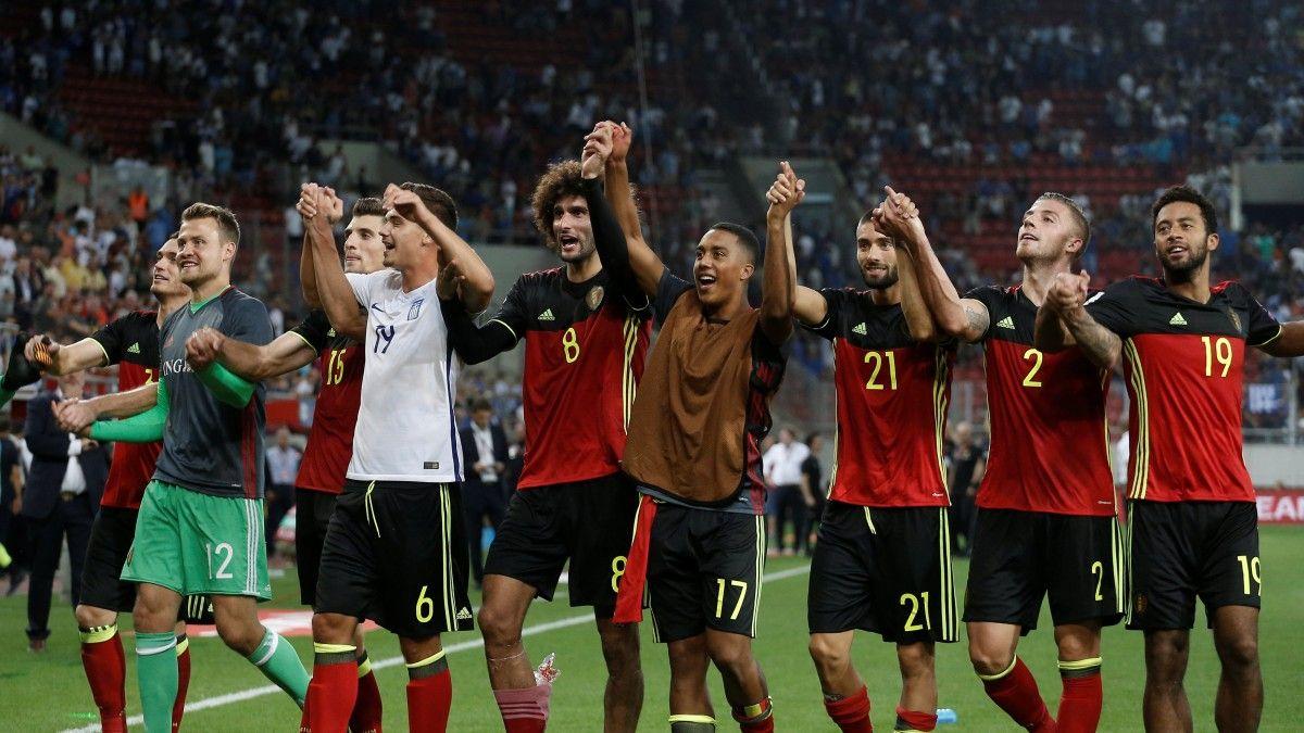 Сборная Бельгии первой вевропейских странах вышла наЧМ-2018, победив Грецию