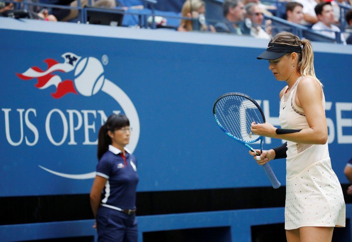 Мария Шарапова уступила Анастасии Севастовой и выбыла из US Open / Reuters