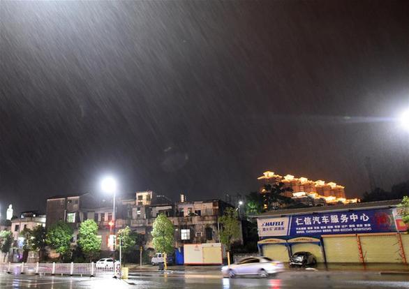 На Китай обрушился тайфун / china.org