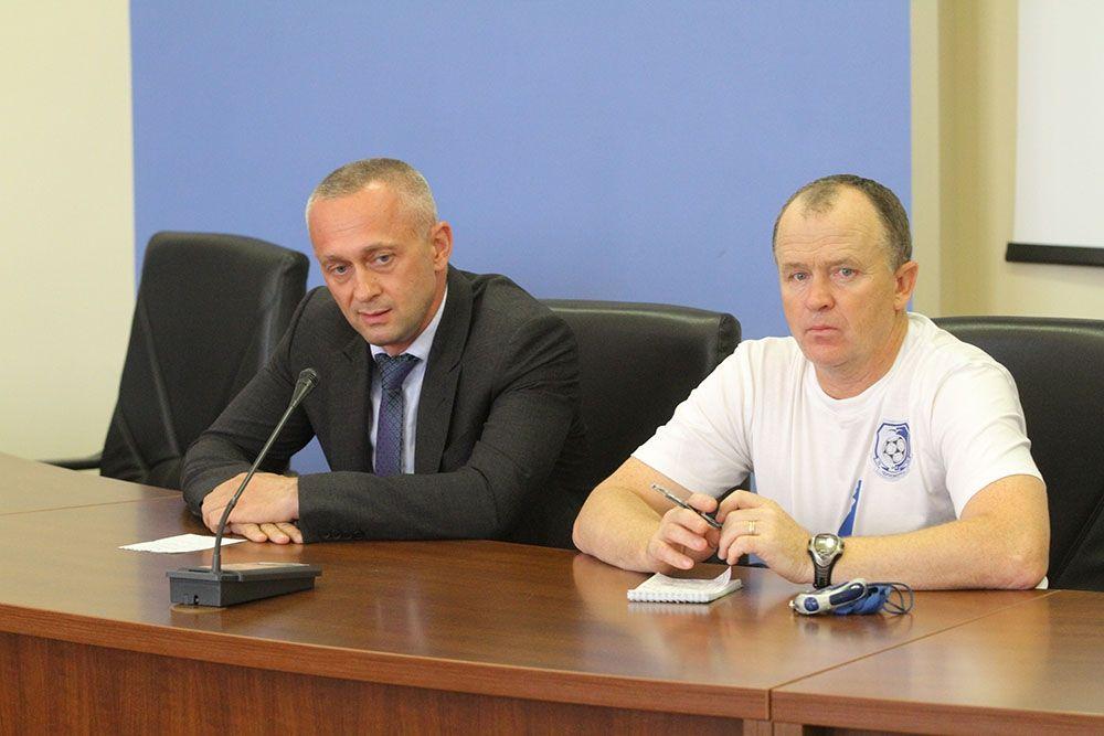 Олег Дулуб представлен в качестве главного тренера