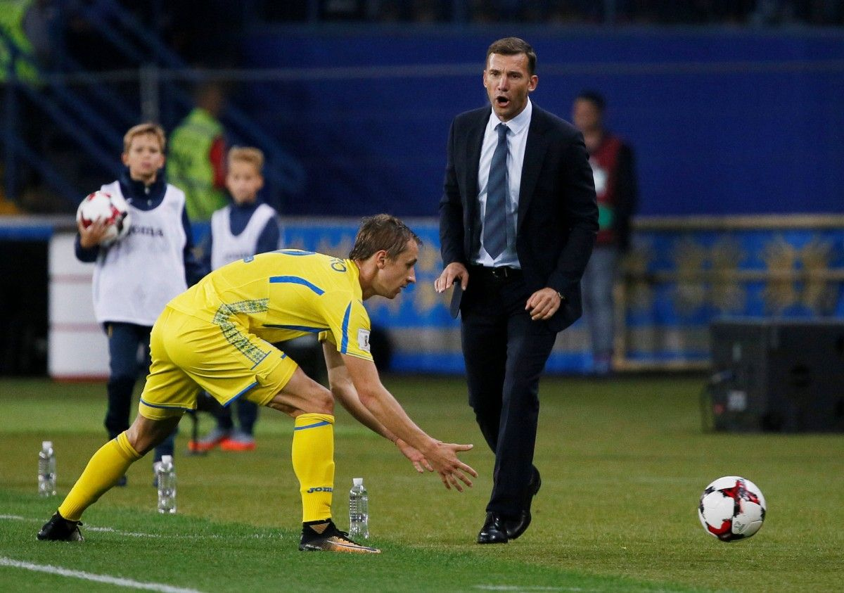 Богдан Бутко може не зіграти за команду Андрія Шевченка у матчі з Ісландією / Reuters