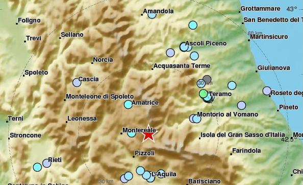 Магнітуда землетрусу склала 4,4 бала / EMSC