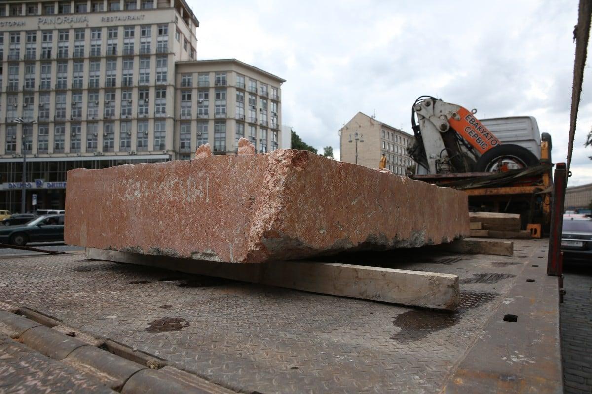 У столиці знайшли зниклу скульптуру часів Революції гідності