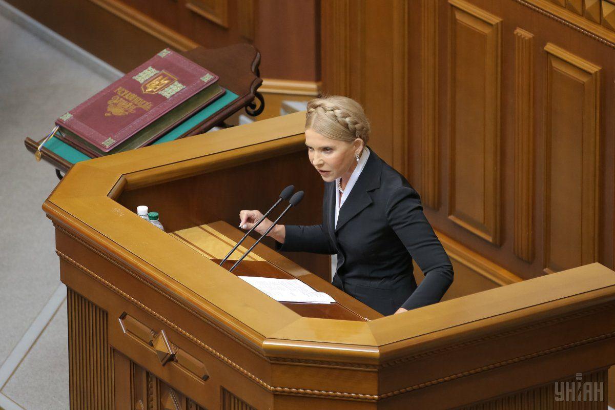 Юлия Тимошенко нашла вУкраинском государстве экономическую катастрофу