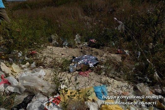 Жінка стверджує, що дитина народилася мертвою / фото ГУ Нацполіції  в Тернопільській області