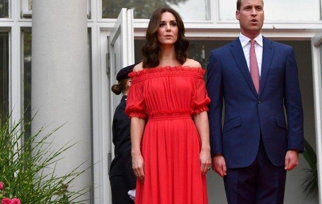 Принц Уильям и Кейт Миддлтон / REUTERS