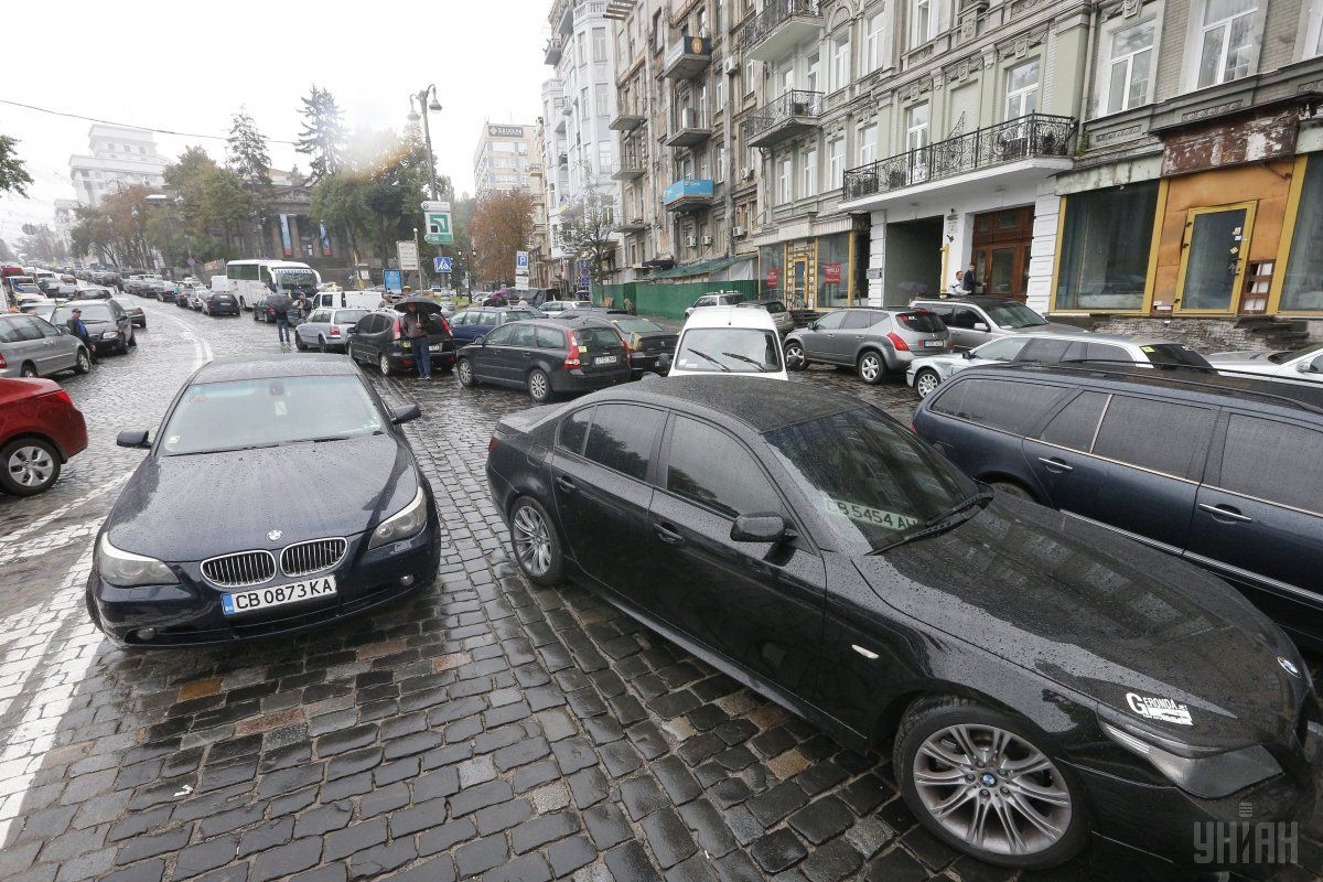 ГФС: більш 246,4 тис. авто на єврономерах перебувають в Україні незаконно / фото УНІАН