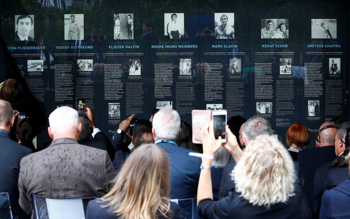 У Мюнхені відкрили меморіал на честь жертв теракту 1972 року / Reuters