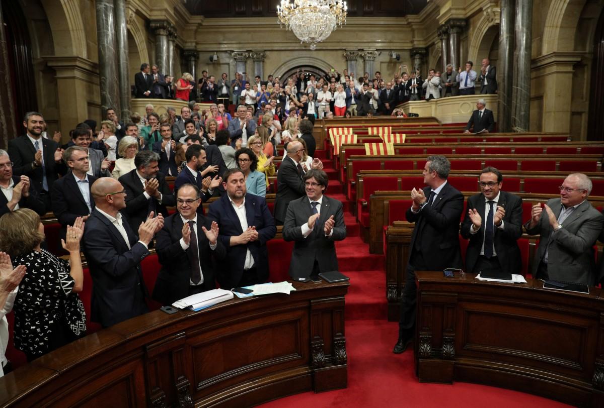 Парламент Каталонии / REUTERS