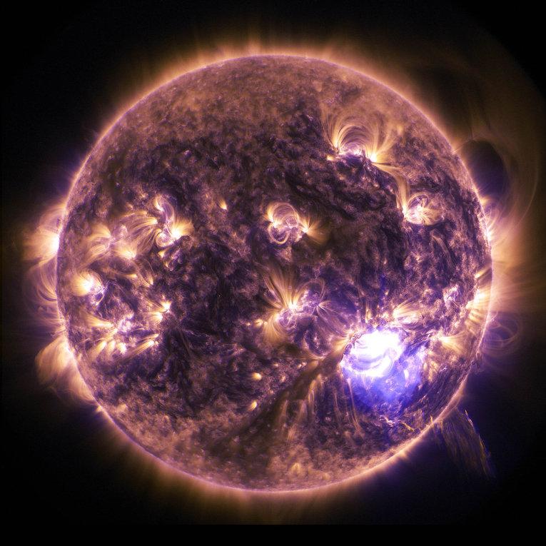 На Сонці спостерігається третя потужна спалах / фото nasa.gov