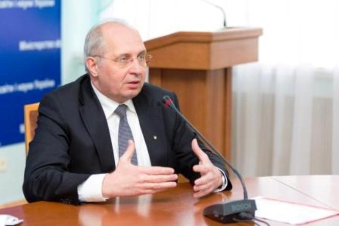 Заместитель Министра образования Павел Хобзей / Новая украинская школа