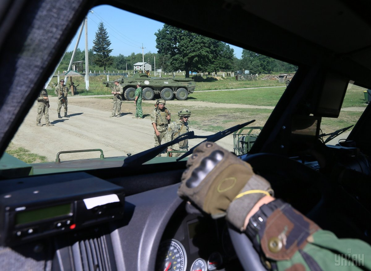 Метою навчань Rapid Trident-2017 було запровадження у ЗСУ передового досвіду армій світу / фото УНІАН