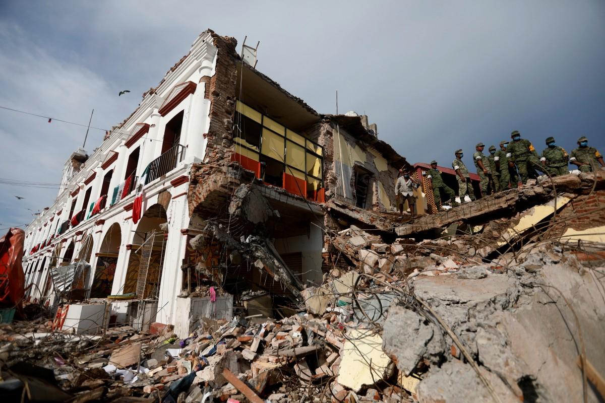 Землетрус в Мексиці / REUTERS