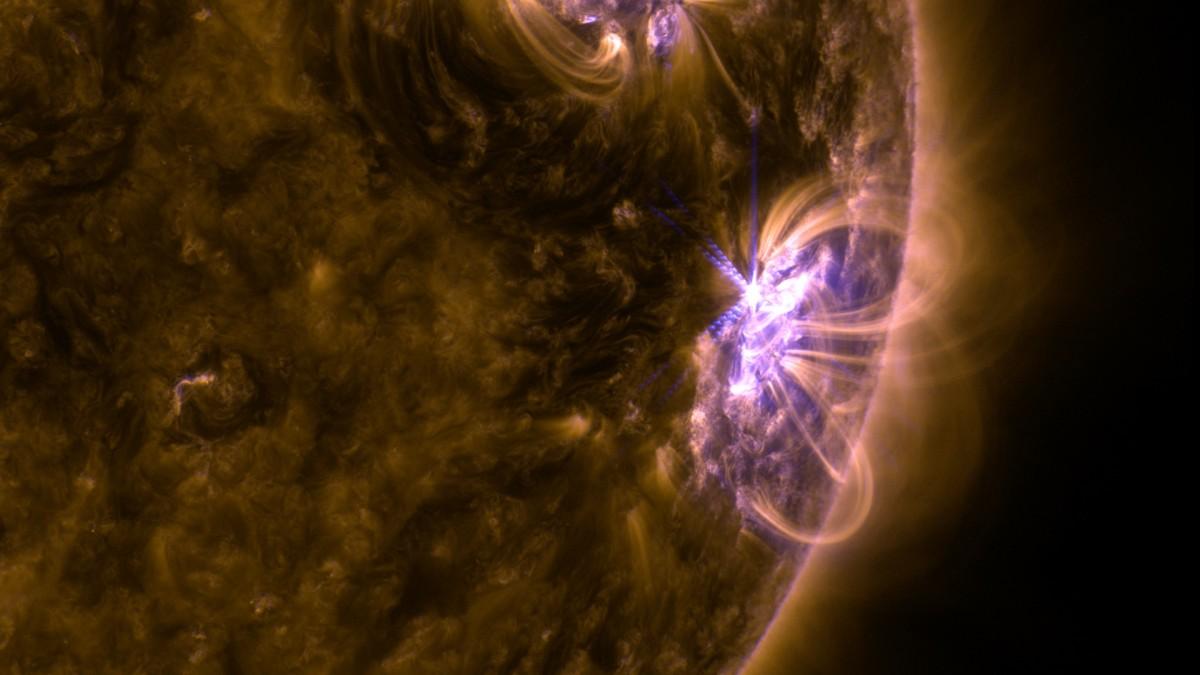 Активність Сонця вже впала до слабкого рівня / фото nasa.gov