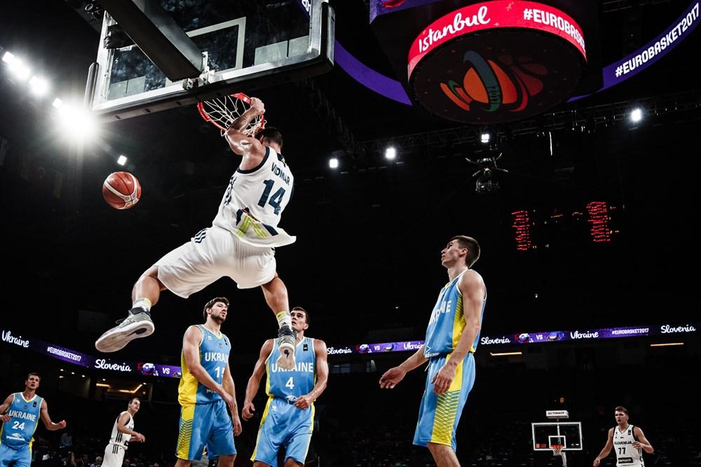 Словения - Украина - 79:55  / fiba.basketball