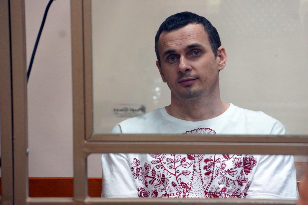 14 травня 2018 року Сенцов оголосив голодування з вимогою звільнити всіх українських політв'язнів / Фото: Антон Наумлюк