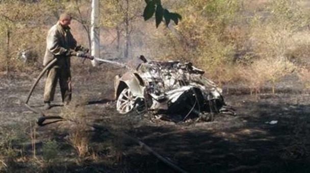 Внаслідок ДТП водій автосалона і покупець загинули на місці / фото Національна поліція України
