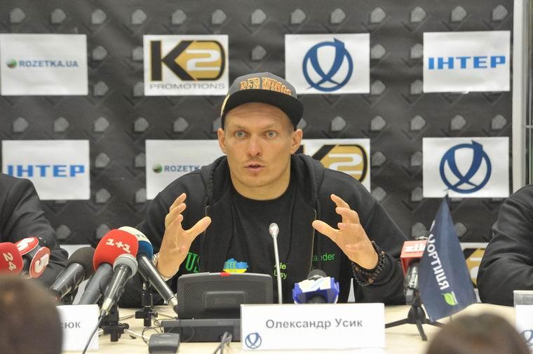 Александр Усик / boxnews.com.ua