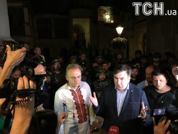 Саакашвили встретился с Садовым / фото tsn.ua
