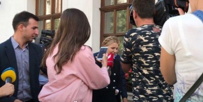 Тимошенко пришла к Саакашвили / фото ТСН