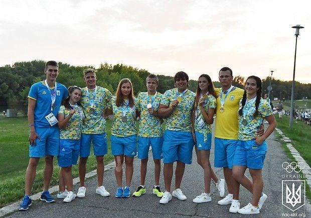 Украинские спортсмены завоевали в Дьорі 8 наград / noc-ukr.org
