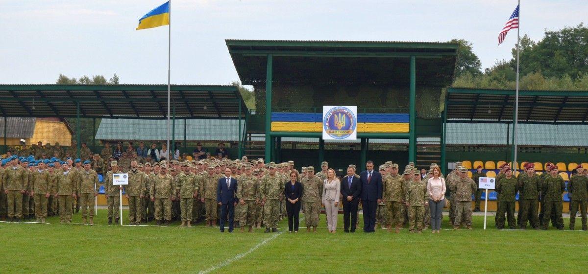 Во Львове начались международные учения Rapid Trident / фото mil.gov.ua