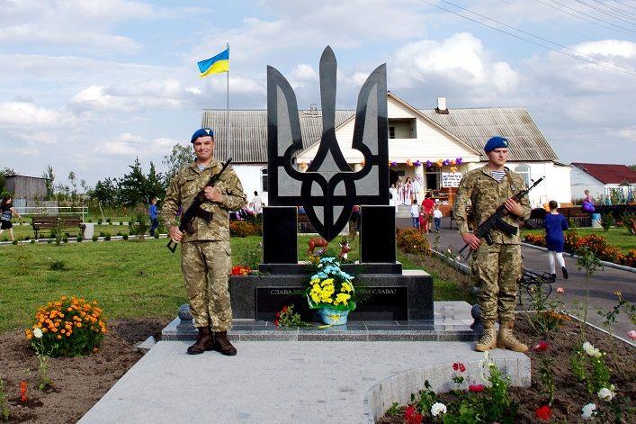 Пам'ятник встановили за кошти місцевої громади / oda.zt.gov.ua