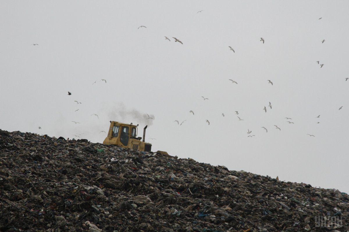 На полигоне твердых бытовых отходов № 5 в сек. Подгорцы Киевской области установили немецкое оборудование для переработки токсичного фильтрата / фото УНИАН