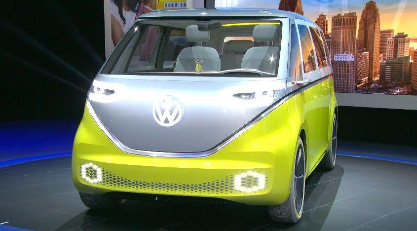 Volkswagen представит электрический вэн / фото ecotechnica.com.ua