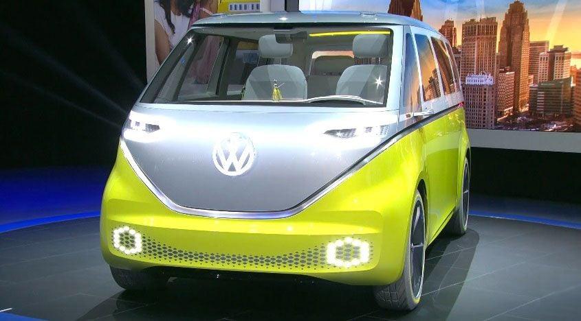 Volkswagen представить електричний вен / фото ecotechnica.com.ua