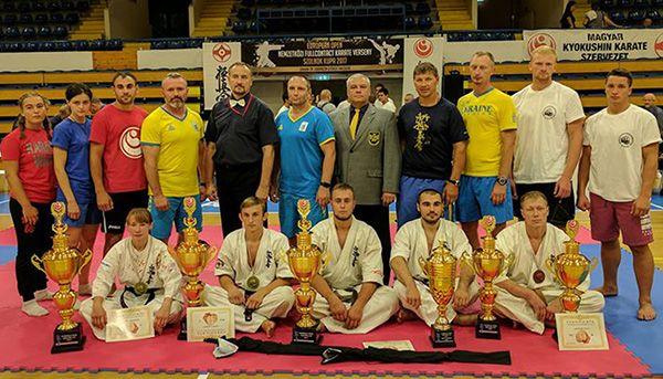 Українці здобули п'ять медалей на Кубку Європи  / scu.org.ua