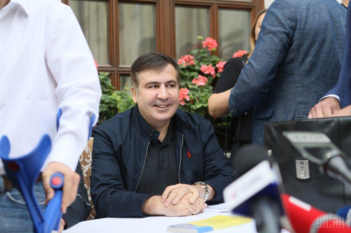 В Нацполіції области сообщили, что не имеют информации о месте нахождения Саакашвили / фото УНИАН
