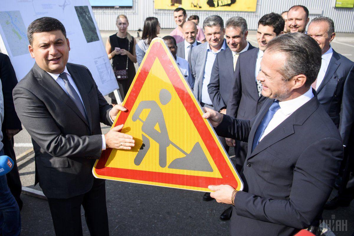 Гройсман и Новак инспектируют ремонт дорог / фото УНИАН