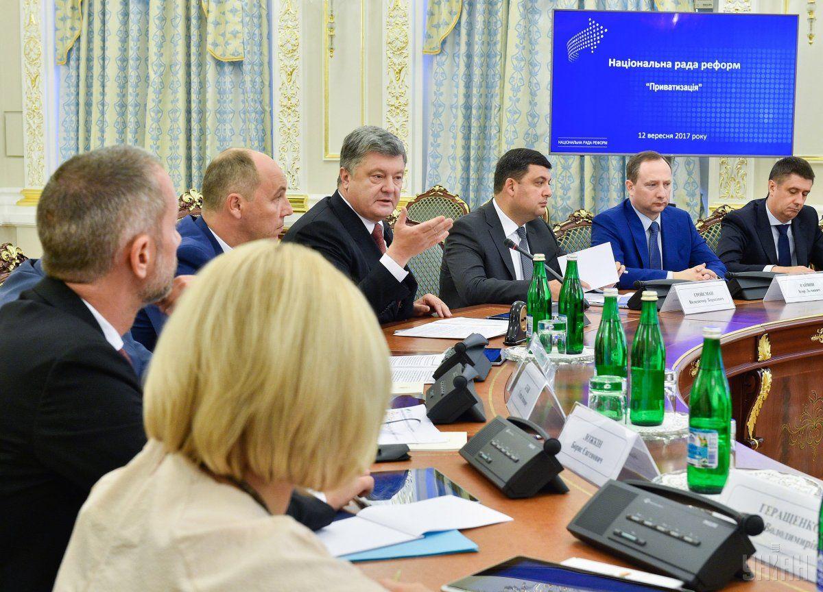 Реализацию  госактивов облегчат : Нацсовет перемен  поддержал законодательный проект  оприватизации