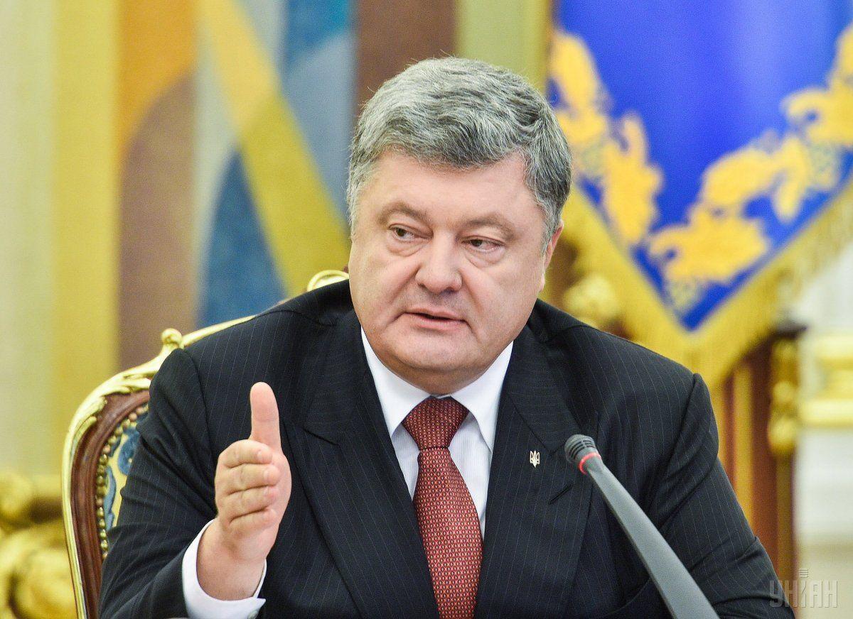 Порошенко дал показания в суде, опасаясь обнаженных активисток / Фото УНИАН