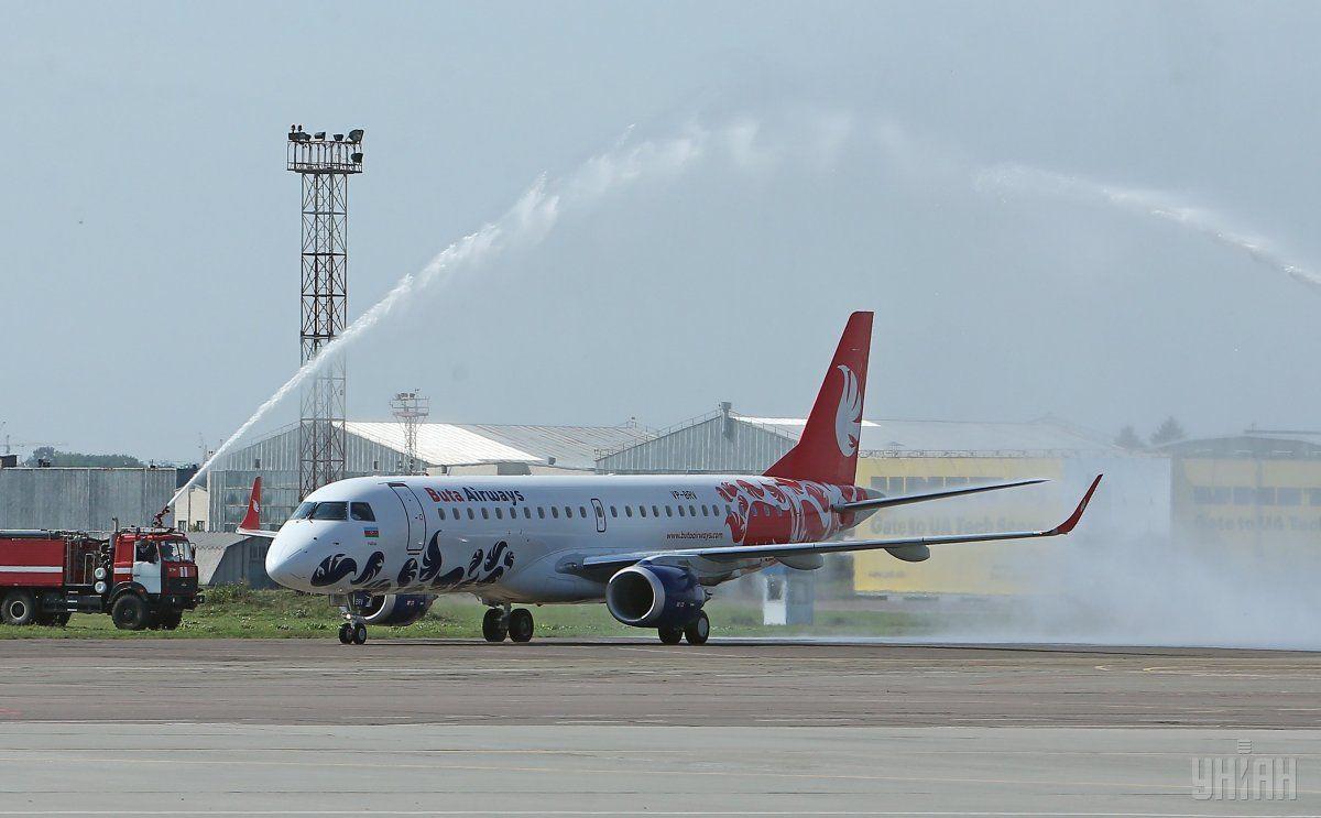 Рейси авіакомпанії Buta Airways будуть виконуватися двічі на тиждень / фото УНІАН