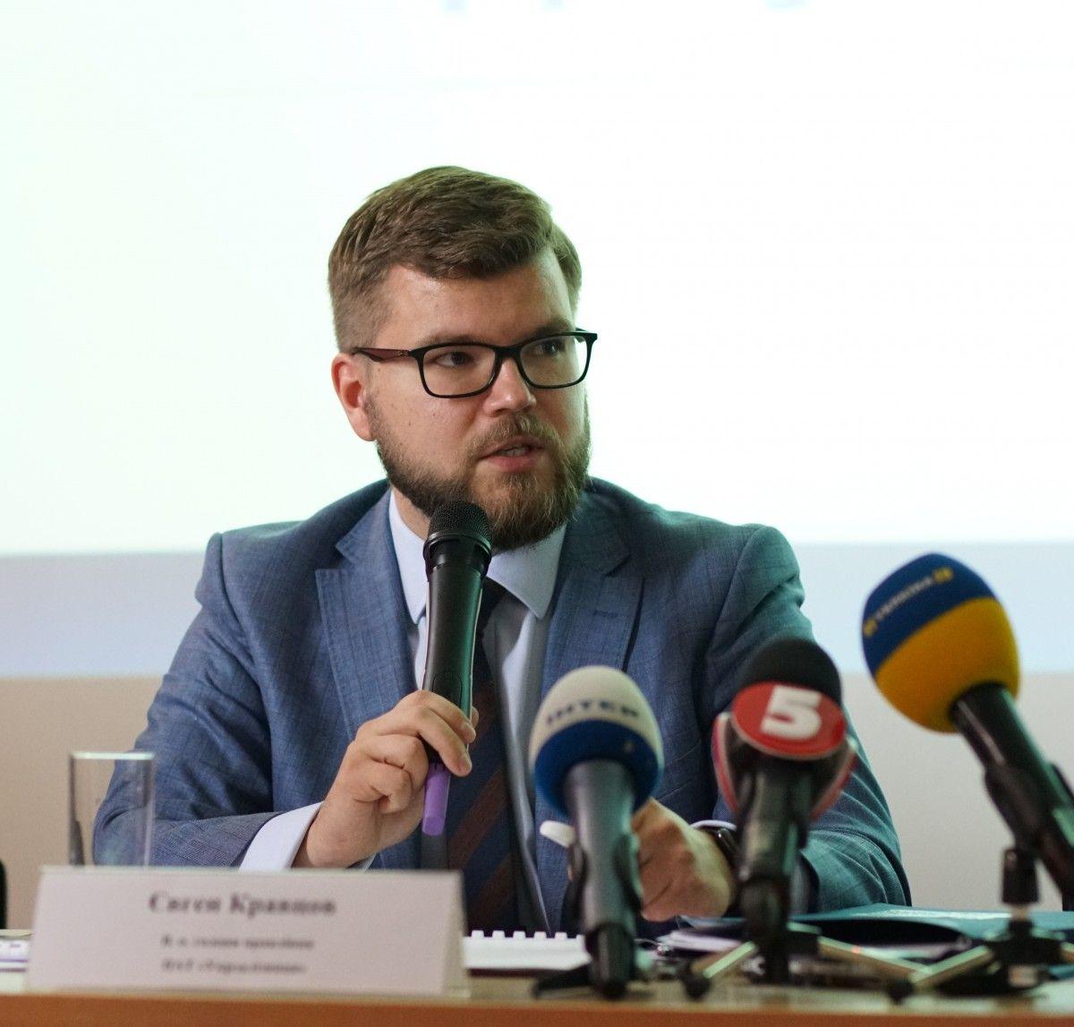 На сьогоднішній день у нас є сполученняз Росією, але пасажиропотік зменшується з року в рік, каже Кравцов / фото УЗ