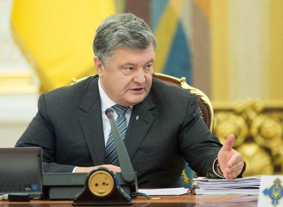 Порошенко повідомив про збільшення військового бюджету / фото president.gov.ua