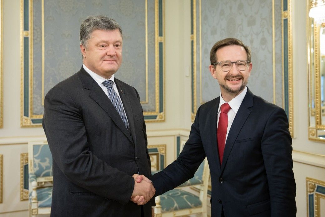 Собеседники обсудили деятельность СММ ОБСЕ / president.gov.ua