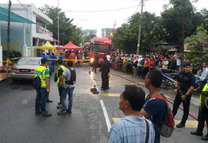 Пожежа сталася у столиці Малайзії / REUTERS