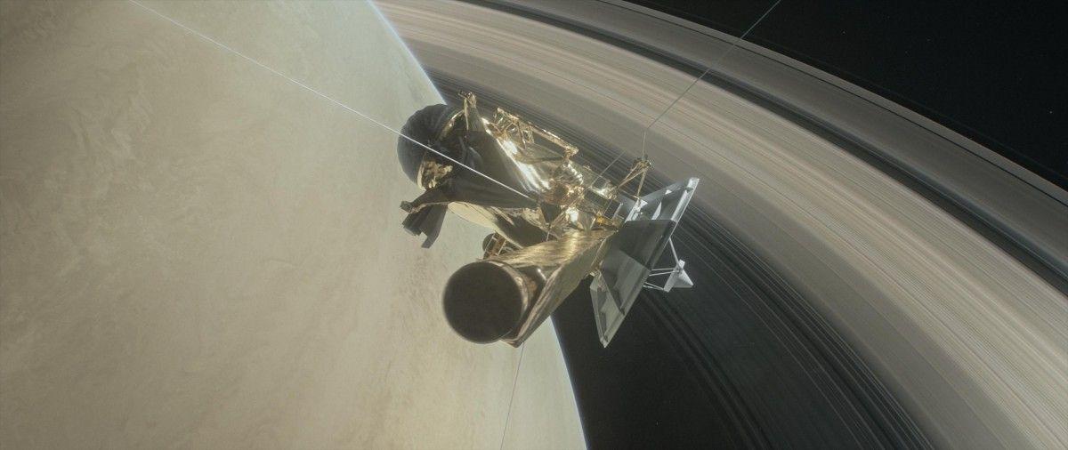 Космический аппарат сгорит 15 сентября / фото NASA
