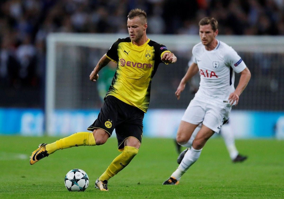 Ярмоленко забил очень красивый гол в матче Лиги чемпионов / Reuters