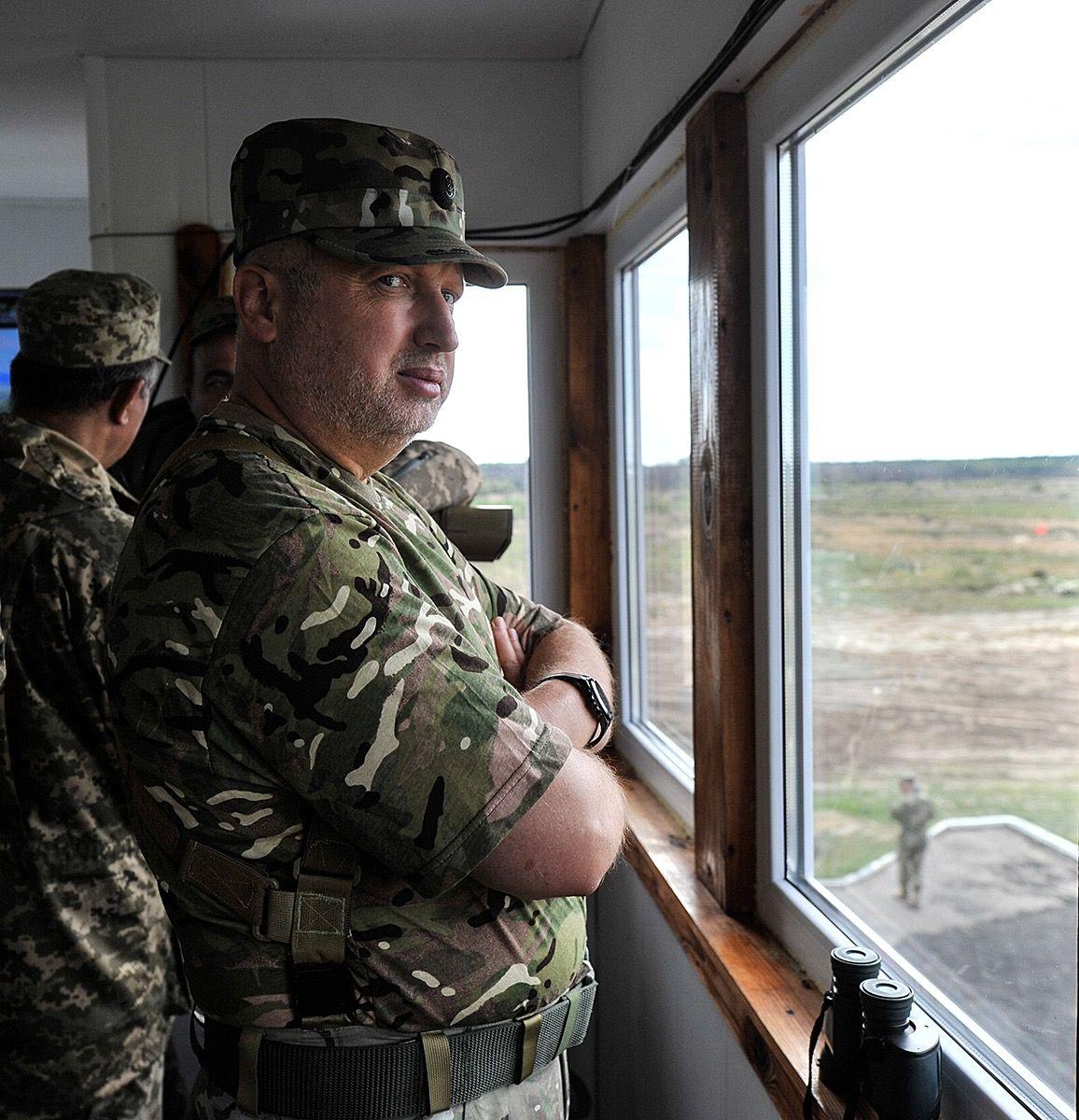 Турчинов прокомментировал сообщения о поставках оружия в Южный Судан / фото СНБО Украины