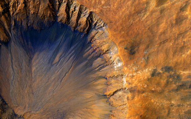 NASA показало очередные кадры сМарса: сюрреалистические фото