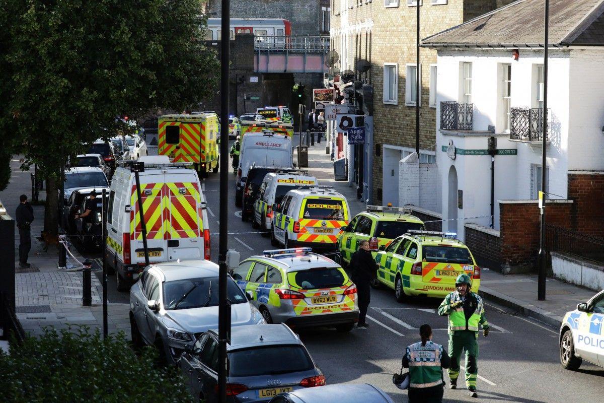 Місце інциденту в Лондоні, ілюстрація / REUTERS