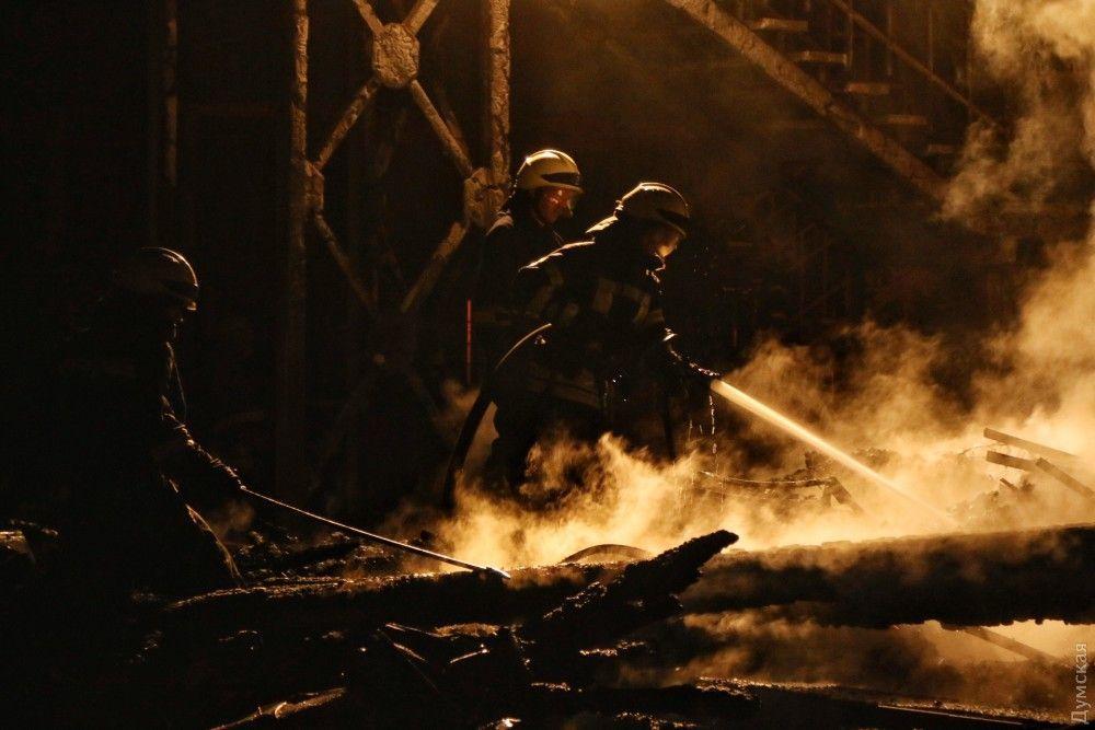 У поліції підтвердили проблему з наявністю води в таборі при гасінні пожежі / фото dumskaya.net