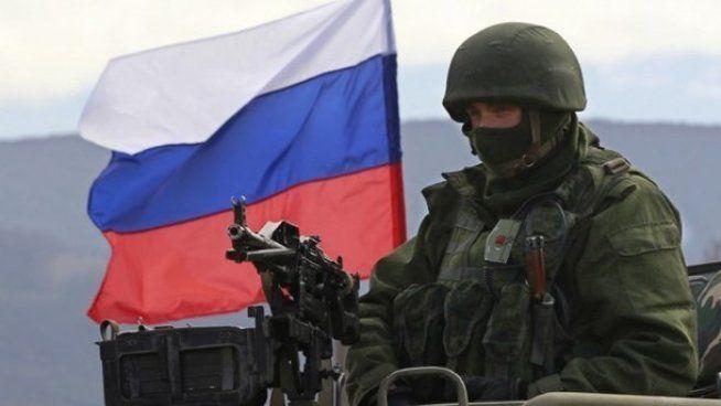 Российские военные испытывают оружие на Донбассе / фото: amurburg.ru
